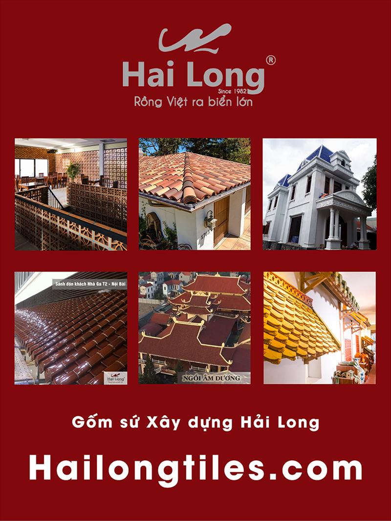 Gốm sứ xây dựng Hải Long Việt Nam