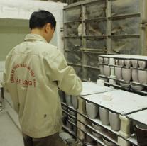 hệ thống sản xuất công ty Hải Long thuộc làng nghề Bát Tràng