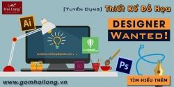 Tuyển Chuyên viên Designer Full Time tại Hải Long Bát Tràng