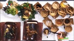Món dê nướng ngói tốt cho sức khỏe - an toàn với dụng cụ nấu nướng bằng gốm sứ truyền thống