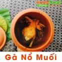 Lu đất NodaCook nướng gà thơm ngon ngọt thịt