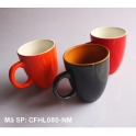 Bộ 03 Cốc latte dáng Ý quai C cao cấp