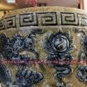 Bát hương đồ thờ cúng bằng sứ Gốm Hải Long Bát Tràng