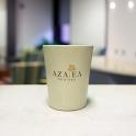 Ca sứ in logo thương hiệu Azalea (Kem)