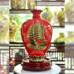 Bảo Bình An dát vàng - Nam Hải Bồ Tát - Thuận Buồm Xuôi Gió - Mệnh Hỏa