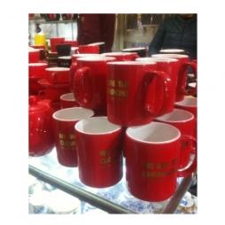 Bộ cốc tách pha cà phê cao cấp (Đỏ)