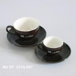 Bộ cốc tách làm cho X-Coffee