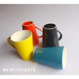 Bộ 04 cốc sứ đại pha cafe