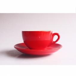 Tách cà phê Cappuccino dáng TBN 280ml (Đỏ)