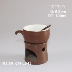Bộ tách & bếp đun nóng cafe