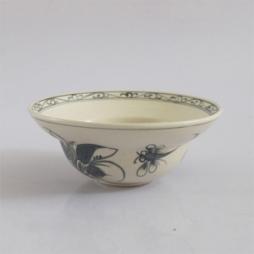 Bát chữ yêu bằng sứ ăn mỳ quảng hoa văn tam thái cổ
