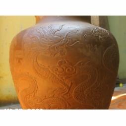Chum sành ngâm rượu 60 lít - Ngũ Long Tranh Châu