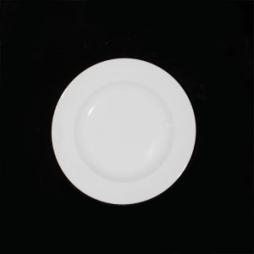 Đĩa sứ tròn sử dụng nhà hàng phi 22cm (Trắng)