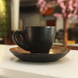 Tách cà phê Espresso 80ml (Đen mờ)