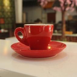Tách sứ uống cà phê Espresso TBN 80ml (Đỏ)