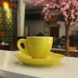 Tách cà phê Espresso TBN 80ml (Vàng)