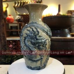 Lo loc binh bang su long cuon thuy gom su Hai Long Bat Trang