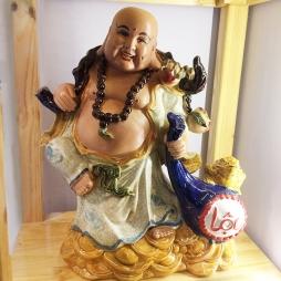 Tượng Phật Di Lặc kéo lộc - S2