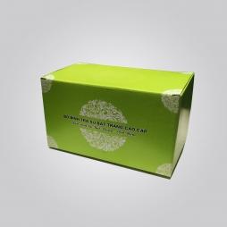 Hộp Carton xanh