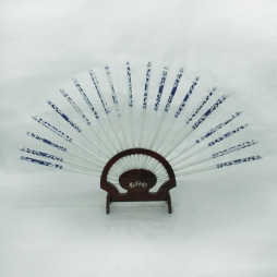 Bộ đũa sứ Bát Tràng cho bộ đồ thờ tâm linh (Xanh cổ)