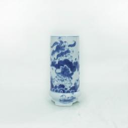 Ống hương có chân cỡ 02 (Xanh cổ)
