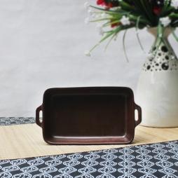 Chảo nướng bánh NodaCook 20x12x4,5 cm (Nâu)