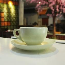 Tách cà phê Capuccino dáng Ý 220 ml (Kem)