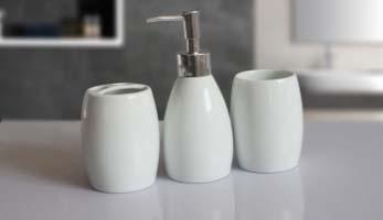 phụ kiện phòng tắm bình sứ đựng tinh dầu
