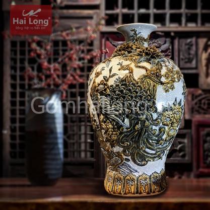 Loc binh su cao cap Bat Trang - Gom su Hai Long since 1982