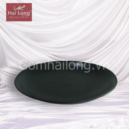 đĩa tròn sứ Bát Tràng