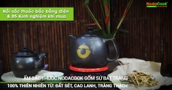 Noi sac thuoc bac bang dien va kinh nghiem khi mua - NodaCook