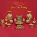 Bộ đồ thờ cho ban 1m54 trở lên men Hoàng Lưu Ly