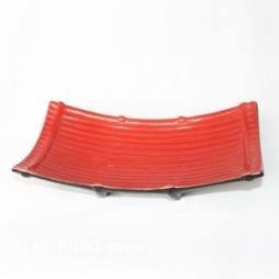 Khay sứ để Sushi kiểu dáng Nhật Bản (Đỏ)