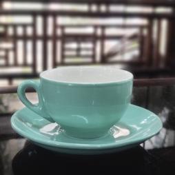 Tách cà phê capuccino dáng Ý 220ml (Men Ngọc Thạch)