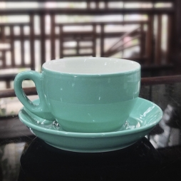 Tách cà phê Capuccino dáng Tây Ban Nha 280 ml (Men Ngọc Thạch)