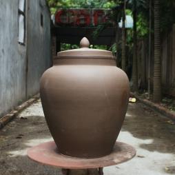 chum sanh ngam ruou Hai Long Bat Trang