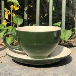 Tách cà phê Capuccino ý 280 (Màu Xanh Đen)