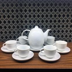 ấm chén pha trà gốm sứ Hải Long Bát Tràng