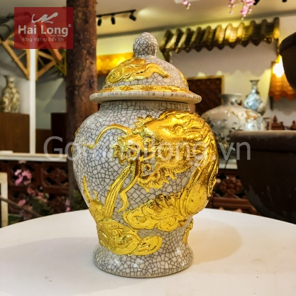 choe cung dat vang Gom su Hai Long